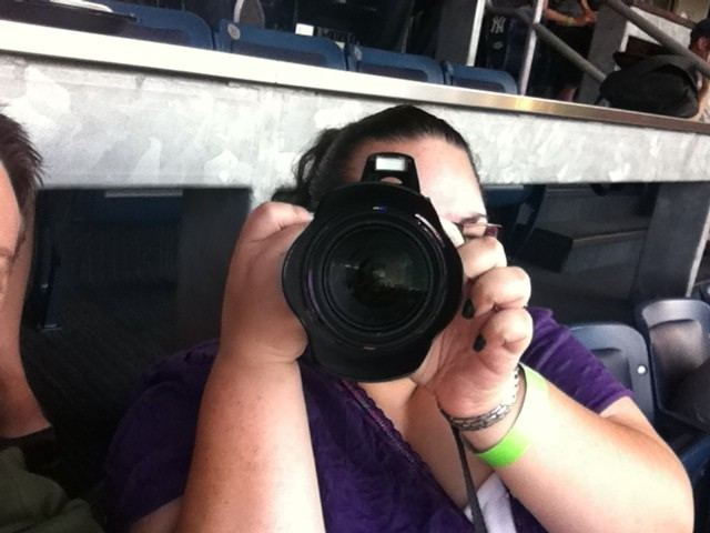 Trisha Lyn Fawver with Camera